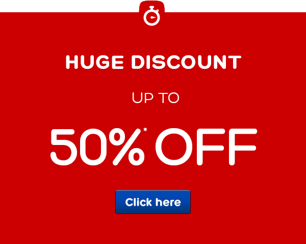 48 hour sale - Save up to 50%