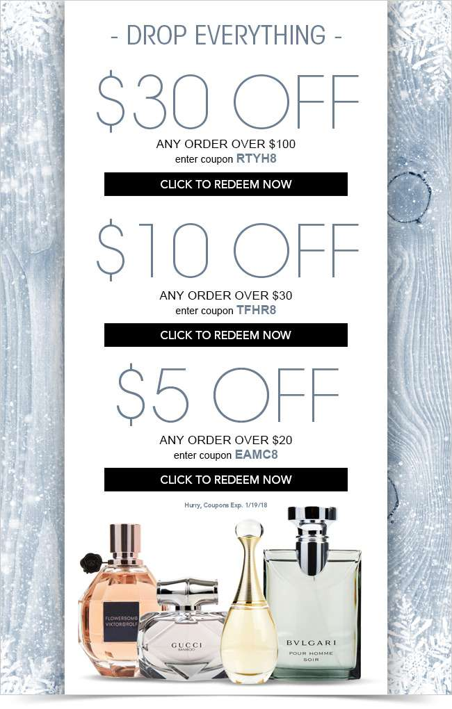 Drop. Everything. Your $30 Coupon Expires Tonight!