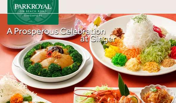 A Prosperous Celebration at Ginger
