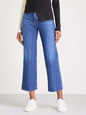 Wide-cut jeans
