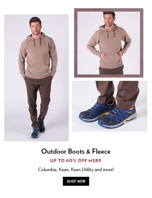 Outdoor Jackets & Boots