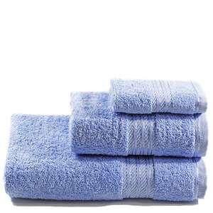 Restmor 100% Egyptian Cotton 3 Piece Towel Bale (500GSM) - Cobalt