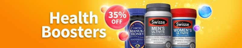 35% OFF Swisse vitamins!