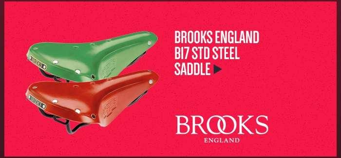 Brooks England B17 STD Steel Saddle