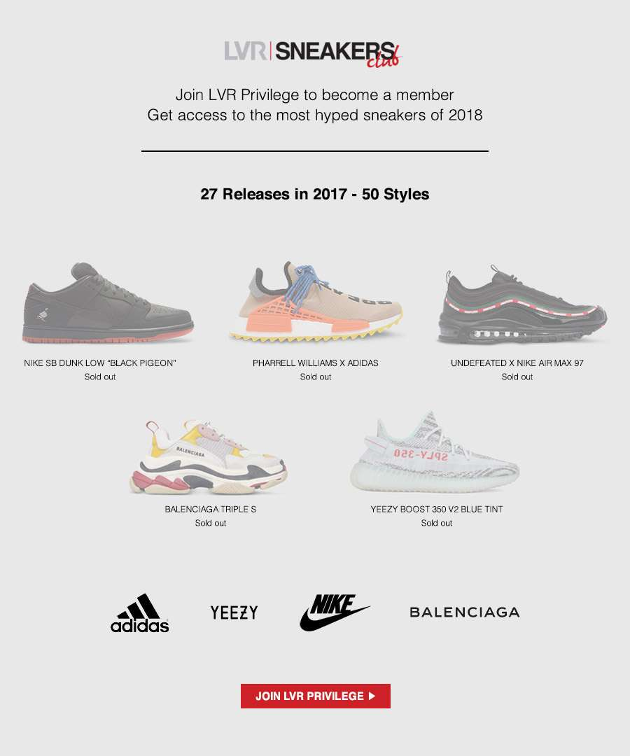 Join the LVR Sneakers Club