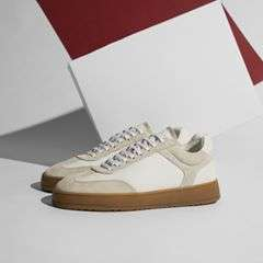 Inspired by the classic trainers of the German army, our Low 5 Off White renders a true classic. Shop now with 50% off by using discount code 'fw17' on our website. #etq #etqamsterdam