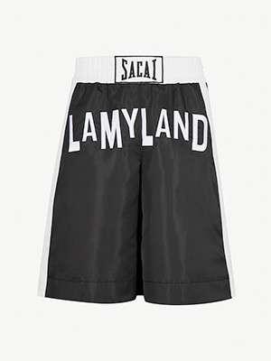 SACAI Lamyland shell boxer shorts