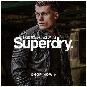 Superdry. shop now.