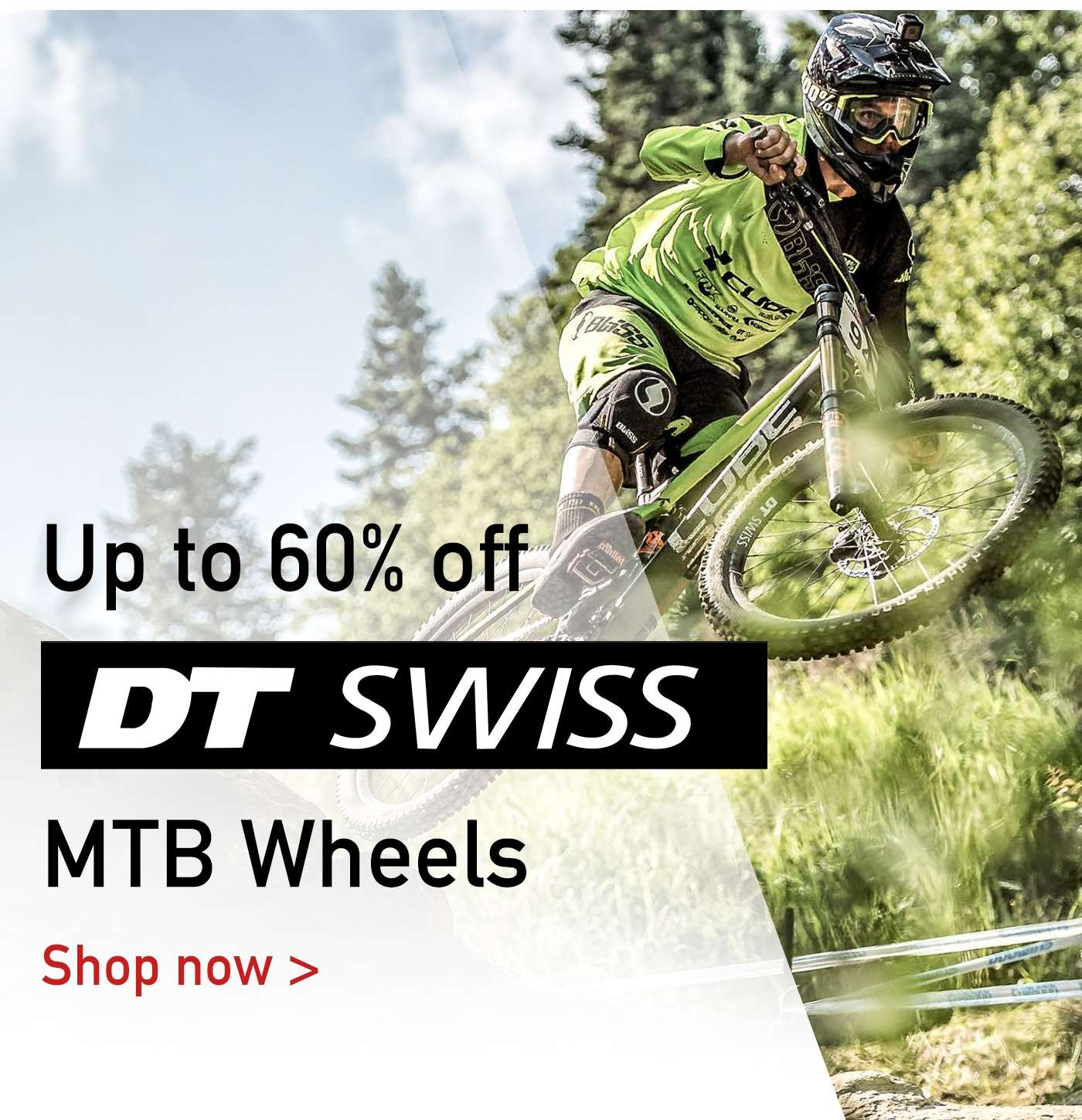 Up to 60% Off DT SWISS MTB Wheels