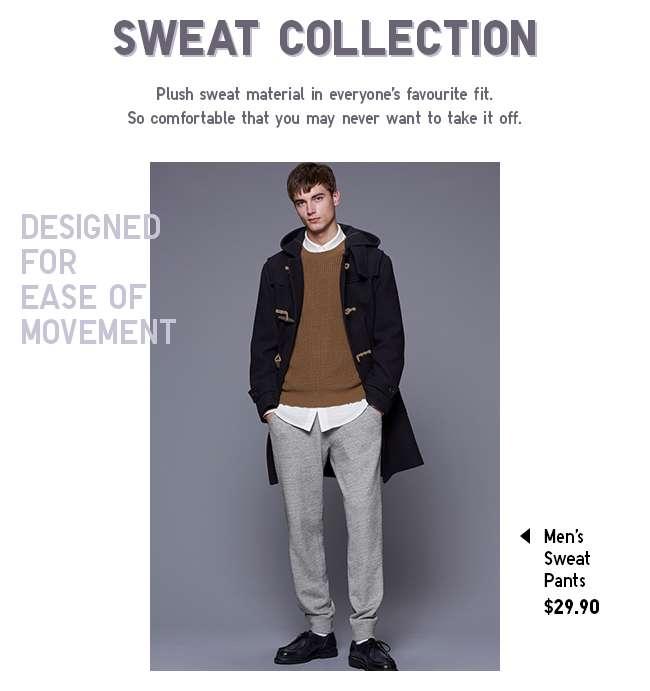 Shop Men's Sweat Pants at $29.90