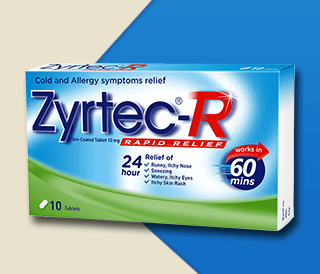 Zyrtec Rapid Relief - OFFER: 2 for $20.80