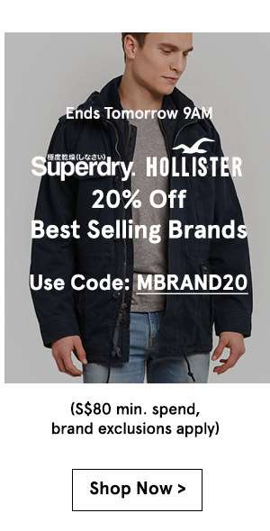 Best selling brands 20% off. Use code MBRAND20. Min spend 80. brand exclusions apply. Shop now.