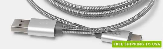 Logiix Piston Connect Steel Braided Cables