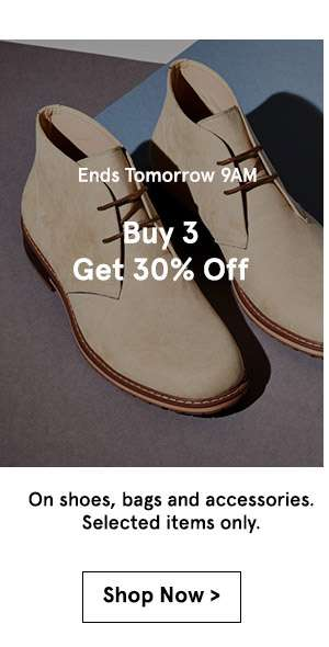 Buy 3 get 30% off. shop now.