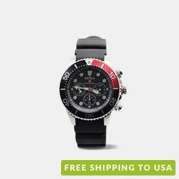 Seiko Prospex Sea Diver's Chronograph Solar Watch