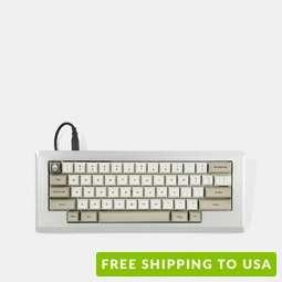 Red Scarf II+ Ver.E MX0110 60% Custom Keyboard Kit