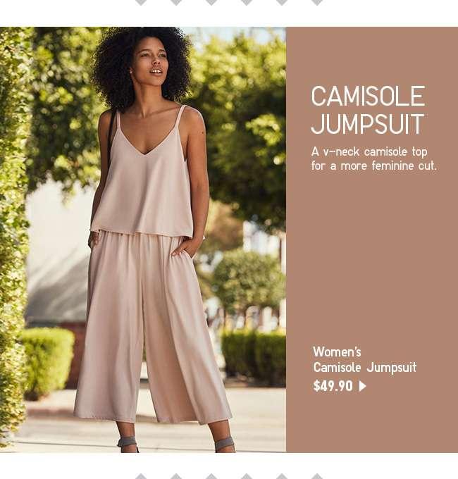 Shop Women's Camisole Jumpsuit at $49.90