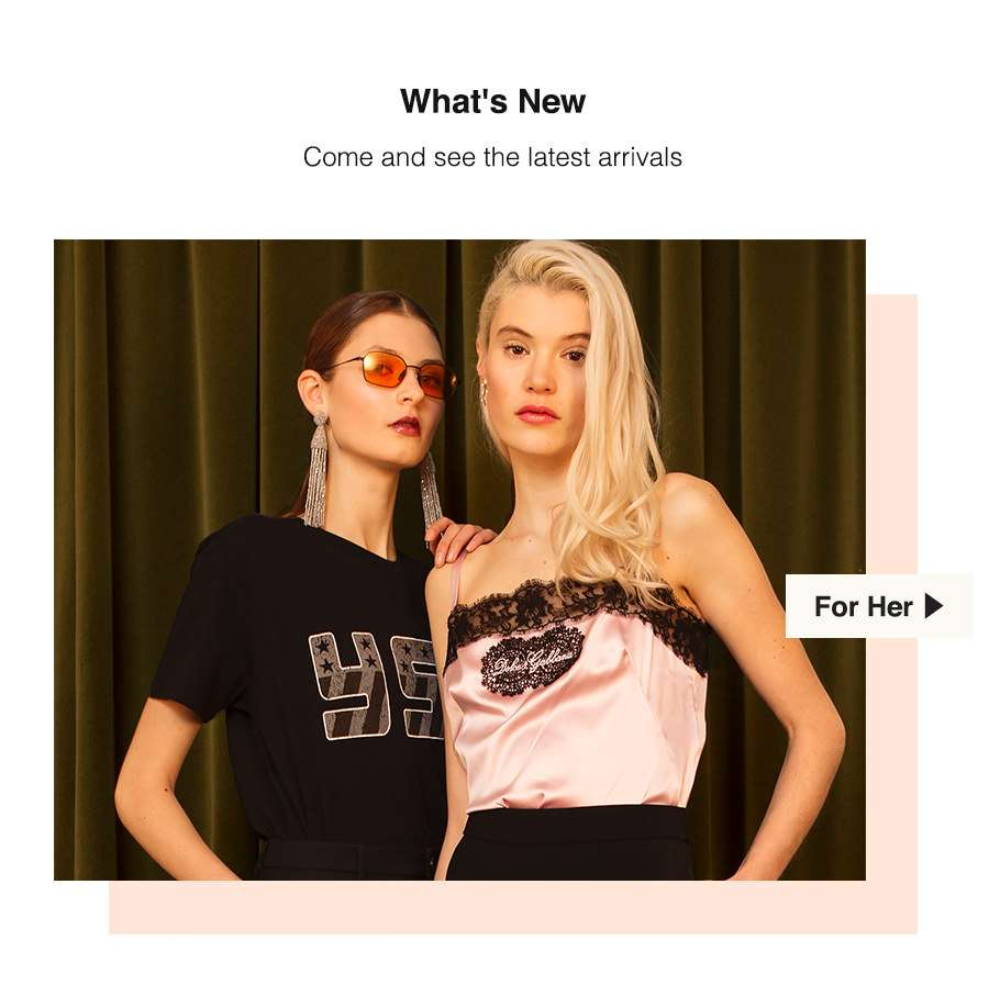 Brand New Arrivals for SS18