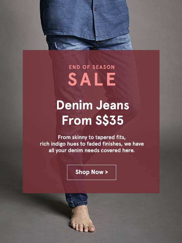 Denim jeans from 35. Shop Now