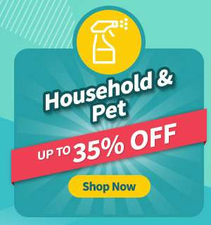 Household items at up to 35% OFF!