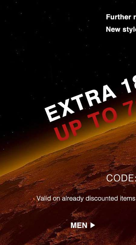 Extra 18% off Sale Items