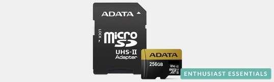 Adata Premier One MicroSDXC UHS-II Memory Cards