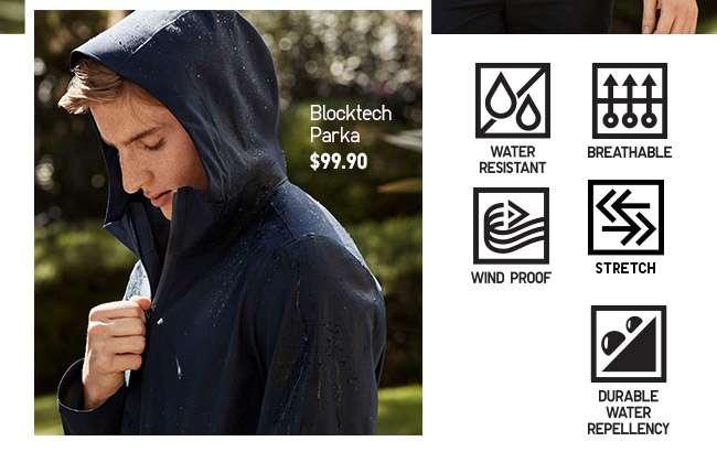 Shop Men's Blocktech Parka