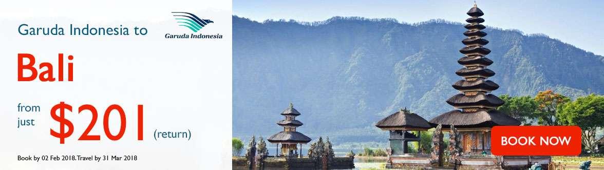 Garuda Indonesia exclusive faresto Bali
