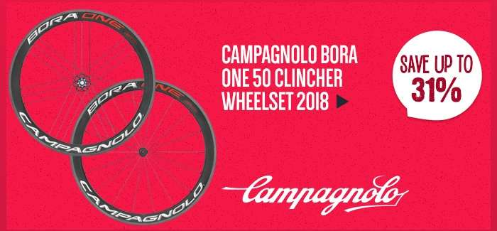 CampagnoloBora One 50 Clincher Wheelset 2018