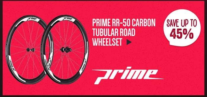 PrimeRR-50 Carbon Tubular Road Wheelset
