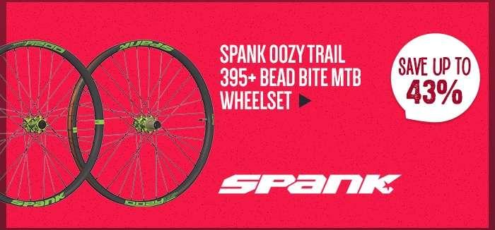 SpankOozy Trail 395+ Bead Bite MTB Wheelset