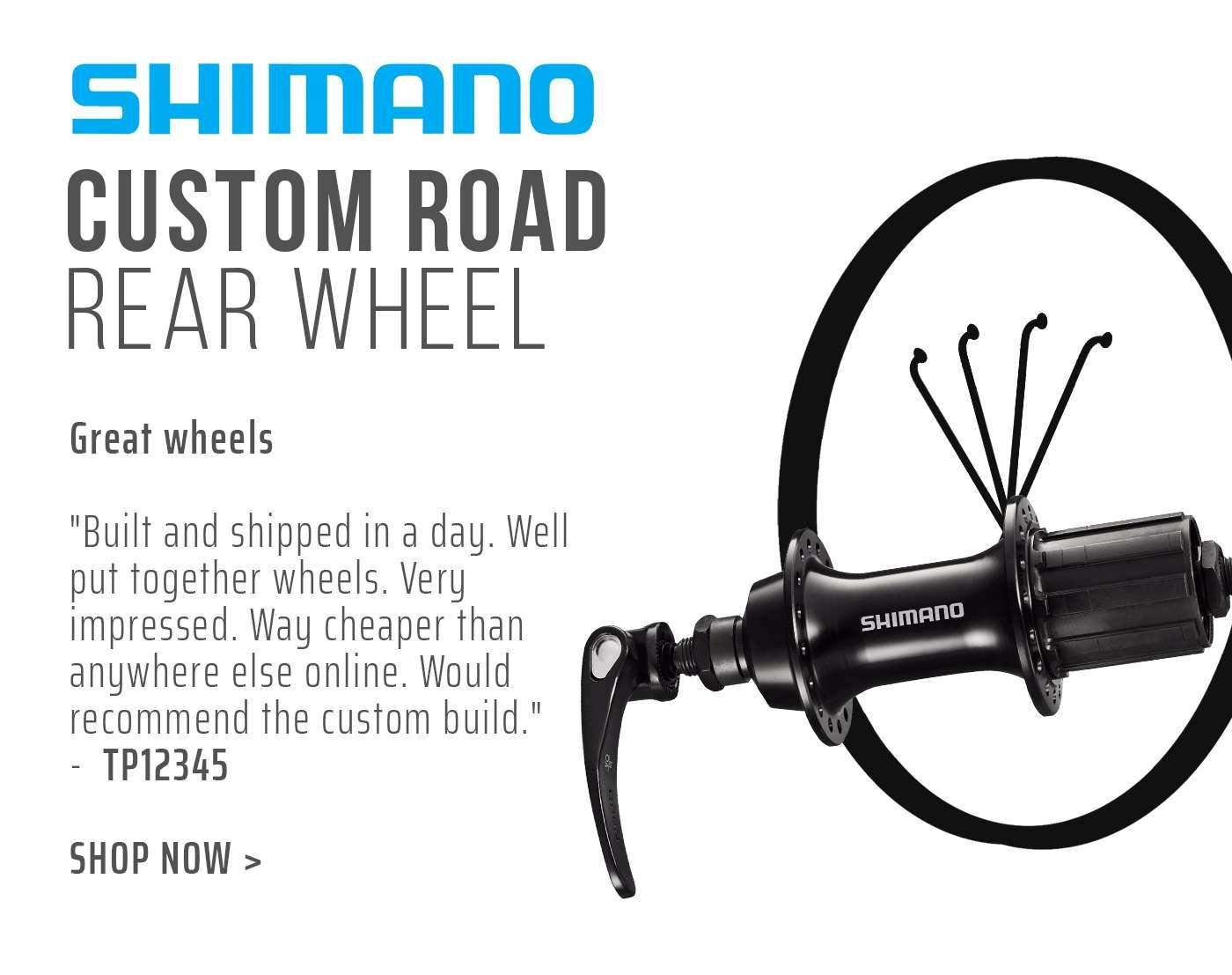 Shimano Custom Road Rear Wheel