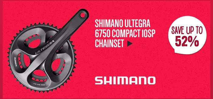 ShimanoUltegra 6750 Compact 10sp Chainset