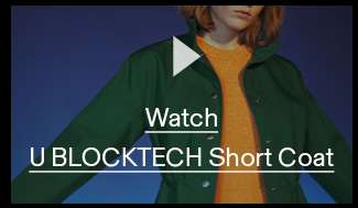 Watch U BLOCKTECH Short Coat