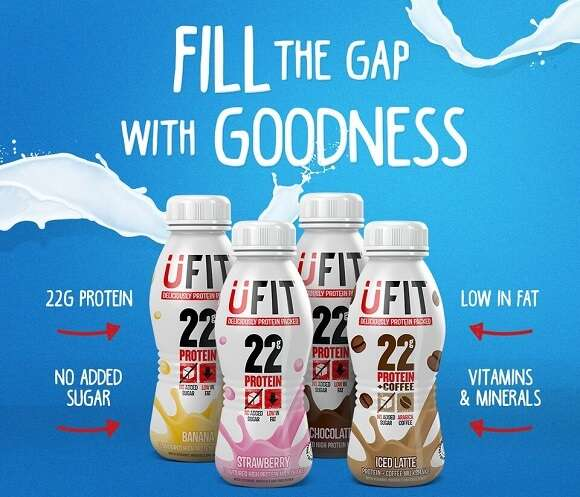 25% off UFIT Protein drinks