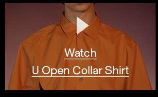 Watch U Open Collar Shirt
