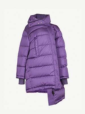 BALENCIAGA - Pulled shell puffer jacket
