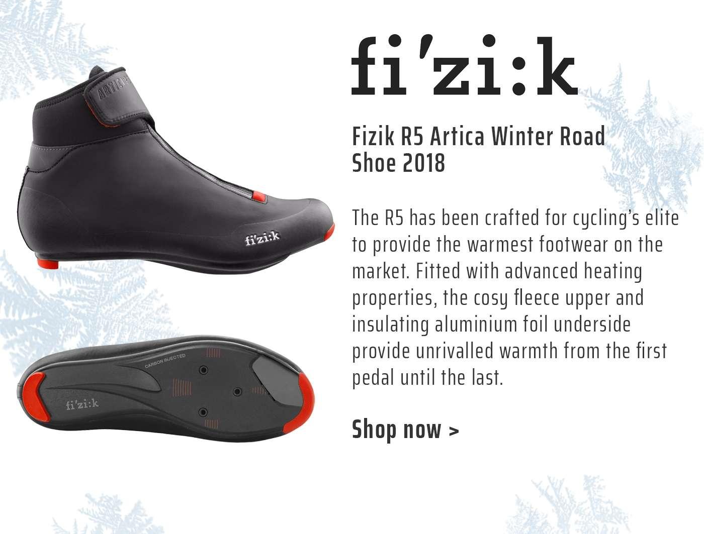 Fizik R5 Artica Winter Road Shoe 2018