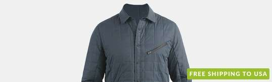 Jeremiah Bixby Quilted Jacket