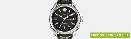Versace Dylos Day/Date Automatic Watch