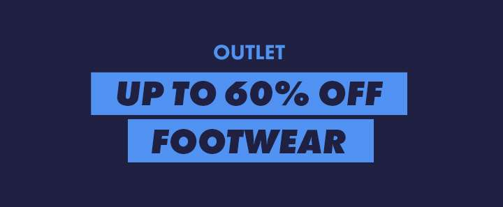 Up to 60% off shoes and trainers