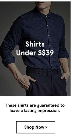 Shirts under 39. shop now