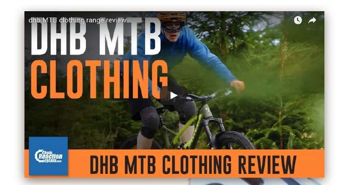 Take a look at the new MTB clothing range from dhb