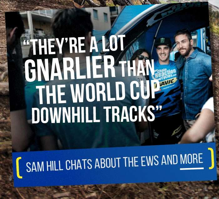 Sam Hill chats about the EWS and more
