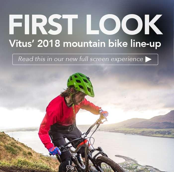 Vitus 2018 mountain bike line-up