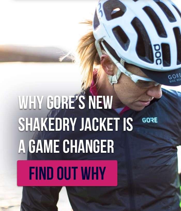 Gore's new Shakedry jacket