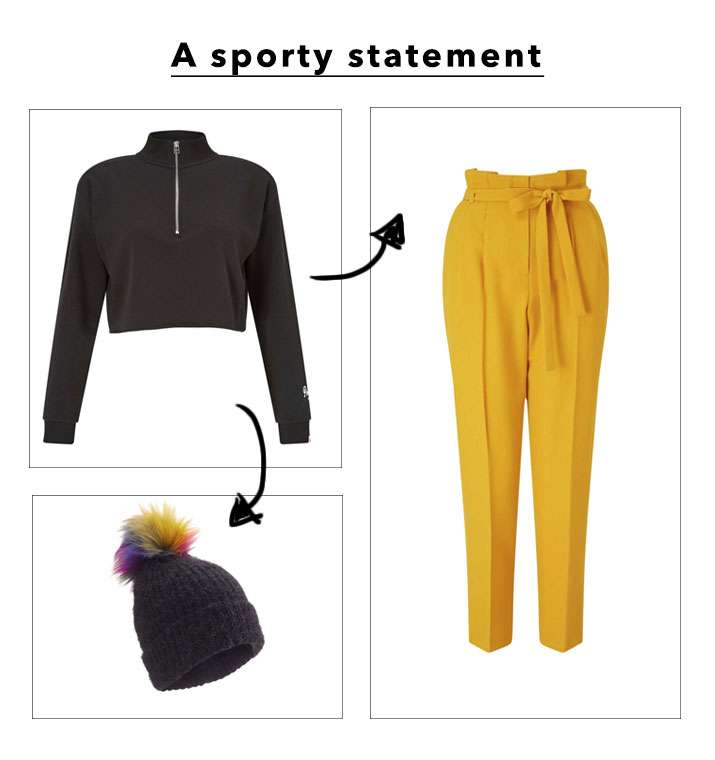 A Sporty Statement - Shop The Look