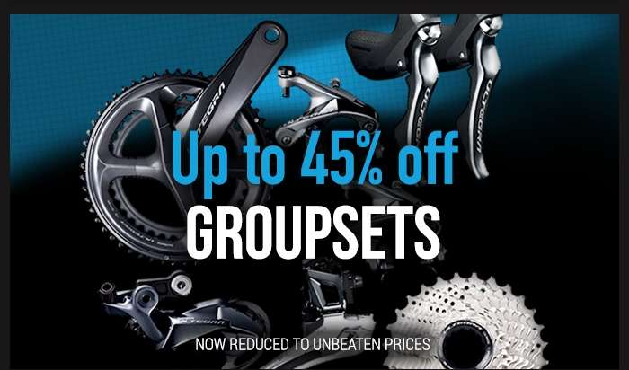 Up to 45% off Groupsets