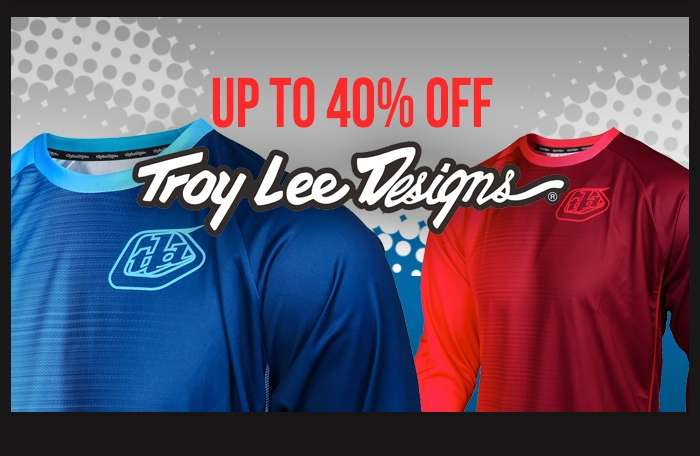 Up to 40% off Troy Lee Designs