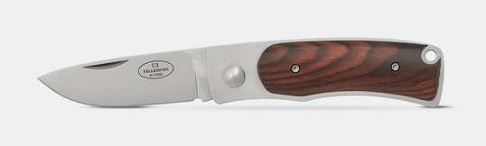 Fallkniven U1c Cocobolo Knife With Sheath